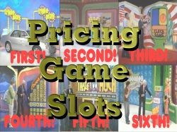 Pricing Game Slots