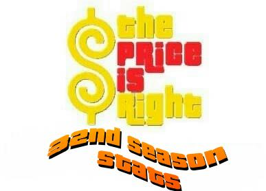 The Price is Right Season 32 Stats