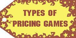 Pricing Games Game Playing Frequency Grouped By Types of Pricing Games