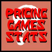 Pricing Games Stats